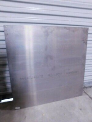 0.19 In Thick X 36 In Wide X 36 In Long Aluminum Sheet Alloy 6061-t6