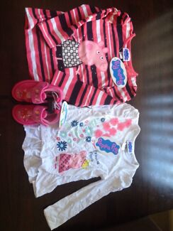 Peppa pig tops and slippers Sawtell Coffs Harbour City Preview