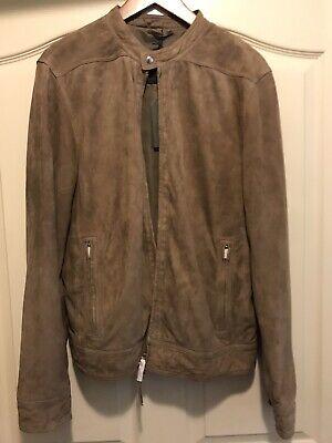 """All Saint's Men's """"Colt"""" Suede Leather Jacket (L)"""