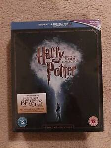 Harry potter Blu Ray Box set yrs 1-8 brand new Warriewood Pittwater Area Preview