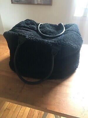 Acne Studios RARE sheepskin duffle bag