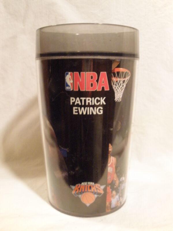 "BUDWEISER BEER NBA ""PATRICK EWING"" BLACK THERMAL MUG / STEIN"