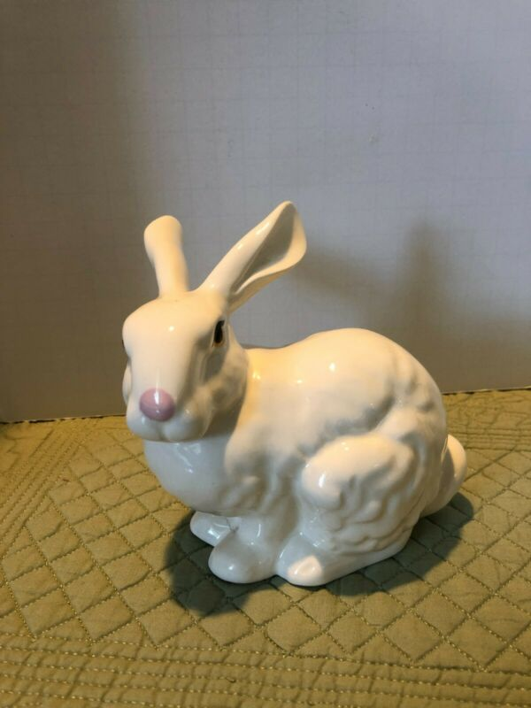 Rabbit Ceramic Easter Bunny Lasting Products Inc Beautiful easter decor