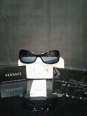 Versace MOD 4068-B GB1/87 65 16 125 Sunglasses w/ Case