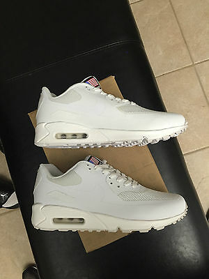 Nike Air Max 90 HYP Hyperfuse Independence Day Red White Blue USA Yeezy Sz