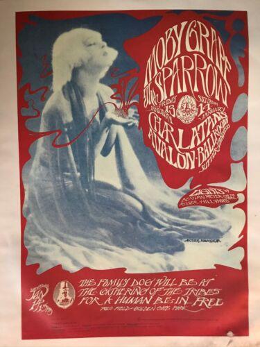 Moby Grape 1967 Original Avalon Ballroom - Family Dog