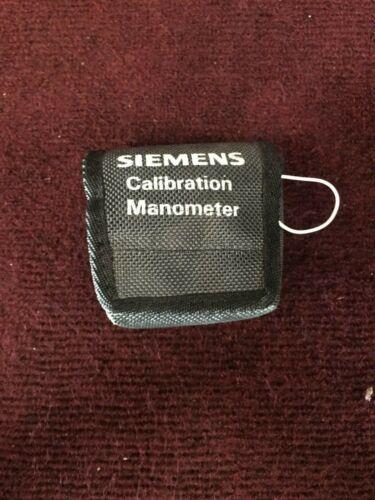 Siemens Calibration Manometer (A2-2)