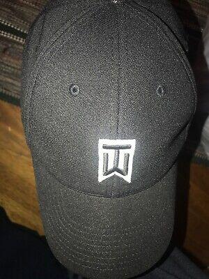 783539de Nike TW Tiger Woods Hat/Cap Vr-20XI Golf Adult FLEXFIT Black Baseball