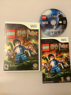 LEGO Harry Potter: Years 5-7 (Nintendo Wii, 2011) Complete