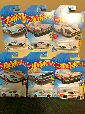 "Hot Wheels (Gulf)-  ""Collection Of 6"""