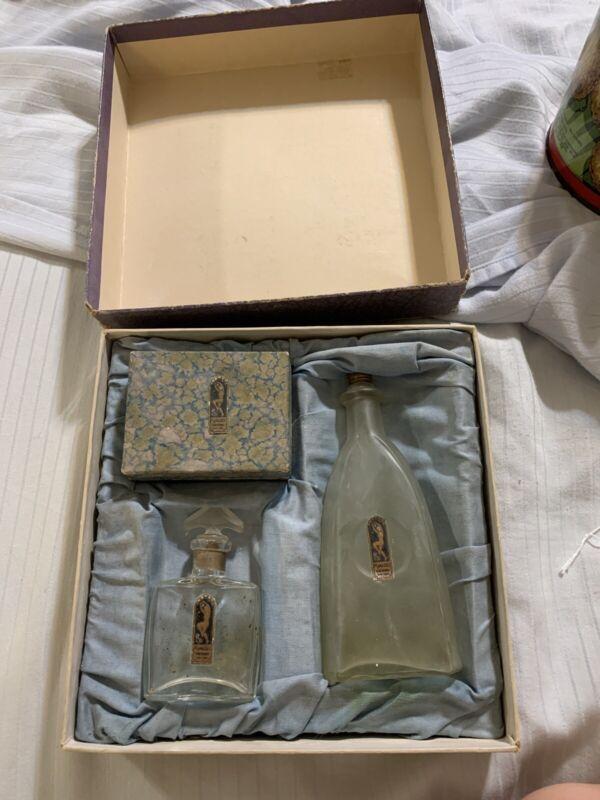 Vintage Mamazel Perfume Set In Box