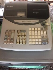 Casio cash register PCR-T2000