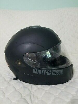 Harley-Davidson Men's Full Face HD-H05 DOT FMVSS No 218 Helmet Matte Black Large