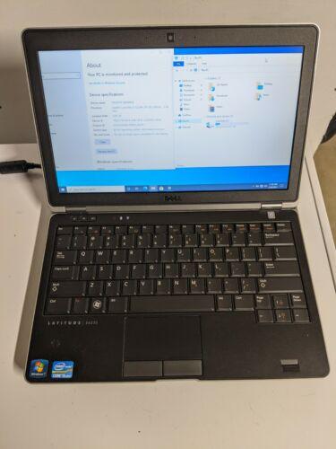 Dell Latitude E6230 Intel i5-3320M 2.6GHz 8GB RAM 256GB SSD Windows 10 Pro