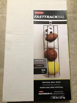 FastTrack Sport Ball Rack Garage Organization Gym Organizer Equipment Storage for sale  Shipping to South Africa