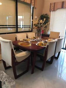 Jarrah Dining Setting Need Sold! No Window Shoppers