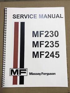 massey ferguson 65 shop manual