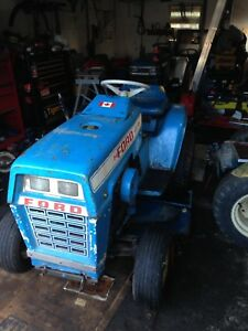 Ford LGT garden tractors for trade