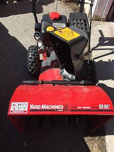 Snowblower in perfect working condition