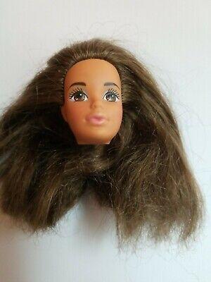 Mattel Barbie Fashion Play Doll 1991 Steffie PJ #3860 head only Brunette OOAK