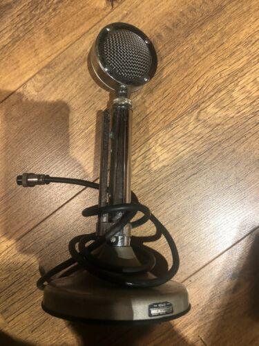 VINTAGE ASTATIC D-104 LOLLIPOP HAM CB RADIO MICROPHONE