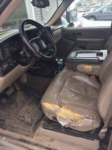Wanted - leather tan driver seat for my 2002 Chevy 2500