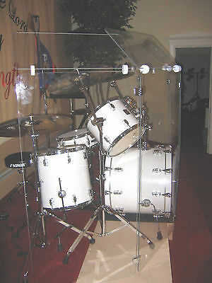 Drum Shields, Drum Screen, Drum Panels, Drum Shield   6 ft x 12 ft