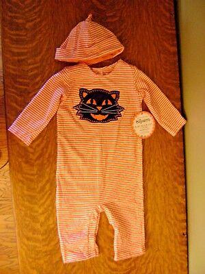 Pottery Barn Kids Baby Black Cat Halloween Costume Outfit~2 PIECE SET,6-9 - Pottery Barn Halloween Costume