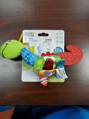 Lamaze MINI DINO TEETHER Baby Developmental Toy