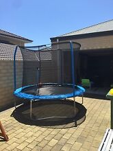 8FT TRAMPOLINE WITH NET Mindarie Wanneroo Area Preview