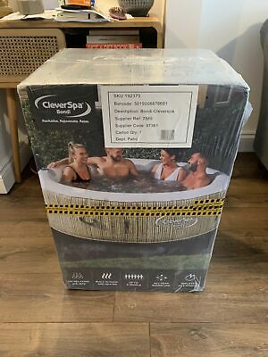 Clever Spa Bondi Inflatable Hot Tub 6 People BRAND NEW With Warranty