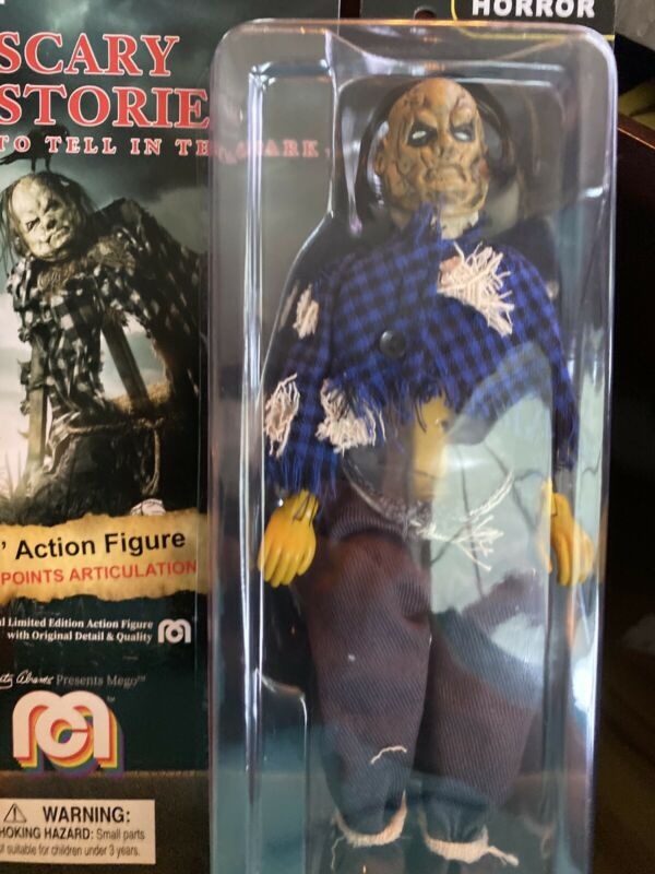 """Mego Legend Horror Scary Stories HAROLD THE SCARECROW 8"""" Action Figure  In Hand"""