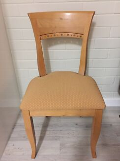 Wing back golden chair Wembley Cambridge Area Preview