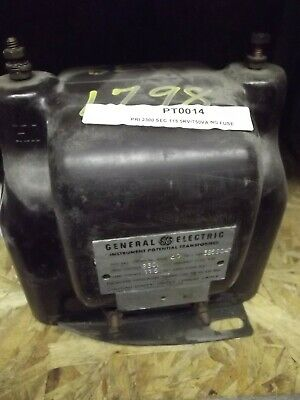 General Electric Potential Transformer 2300-115 Type Pv-5