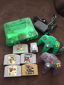 N64 bundle. 2 controllers. Expansion pack. 5 Games!