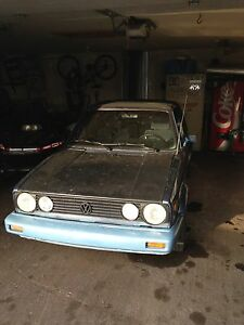 Mk1 rabbit cabrio 1981 part out