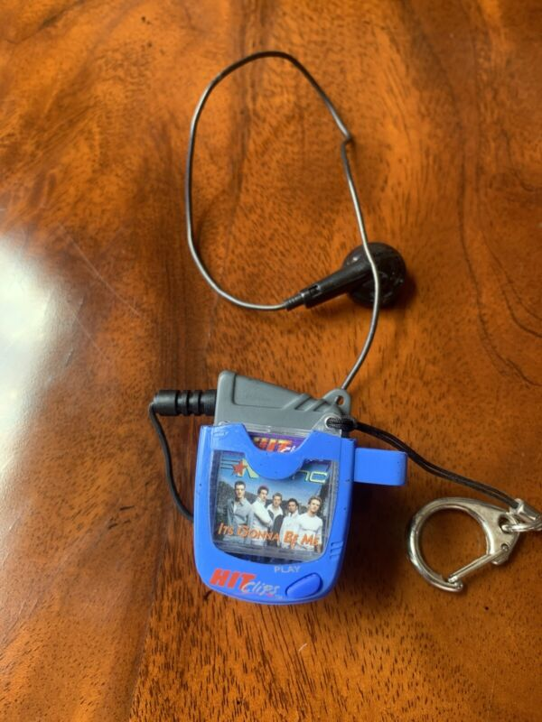 Nsync Hit Clips Player 1 Clip With Key chains And Earpiece N Sync Music Boy Band