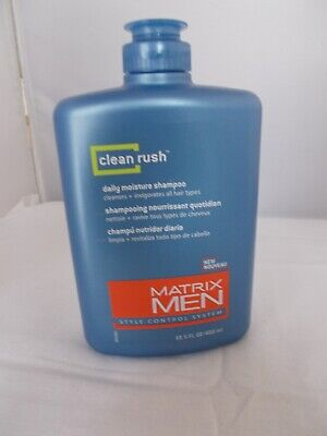 MATRIX MEN CLEAN RUSH DAILY MOISTURE SHAMPOO 13.5 OZ FREE SHIPPING