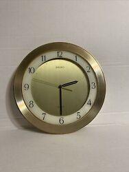 Elegant Modern Vintage Wall Clock - Seiko Quartz (Battery Included)