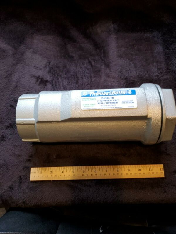 "THOMAS &BETTS 3"" EXPANSION JOINT WITH 4"" MOVEMENT  MODLE# XJG84-TB  WITH ..."