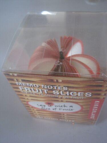 Memo Notes Fruit Slices Apple NIB