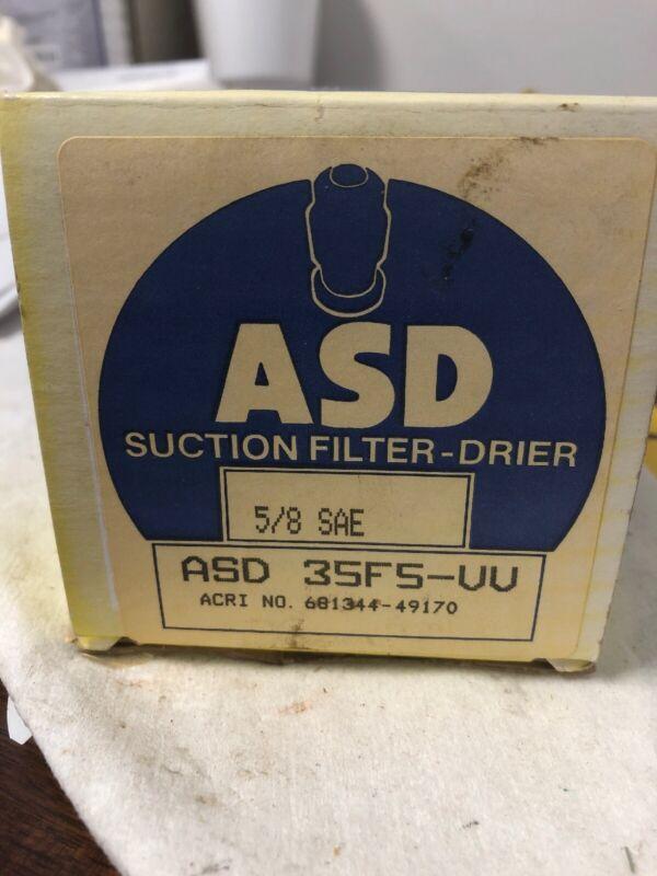 """Alco Compressor Protector Suction Line Filter Drier ASD 35 F 5-VV 5/8"""" SAE"""