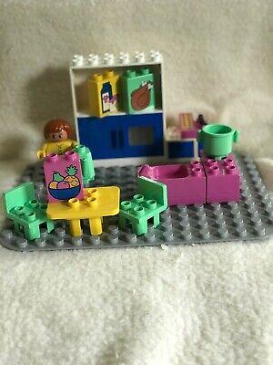 Katie's Kitchen Lego Duplo 2788 Vintage 1994 Preschool Building Toy Playset, Box