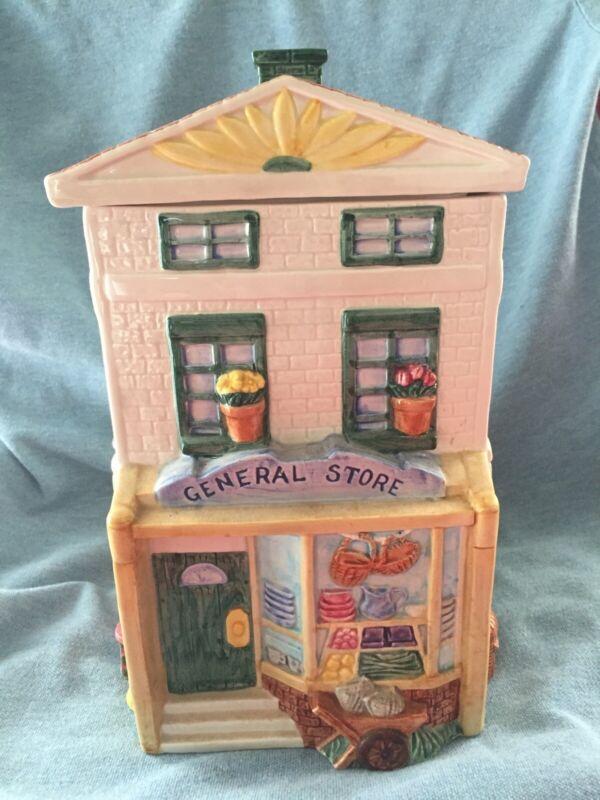 Fritz and Floyd Omnibus General Store Cookie Jar 1995