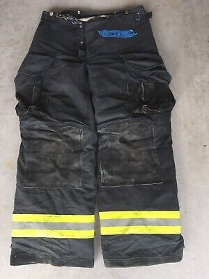 Firefighter Janesville Lion Apparel Turnout Bunker Pants 36x32 Black 2006