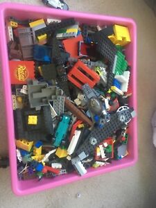 LEGO for sale  cash only. Does not come with Bin