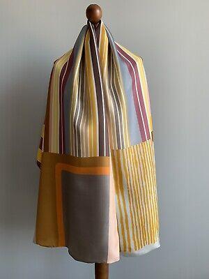 Pierre-Louis Mascia pure Silk Cotton scarf wrap 100% authentic original DEFECT