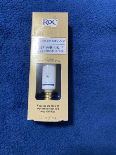 roc retinol correxion deep wrinkle  Daily Moisisturizer Spf