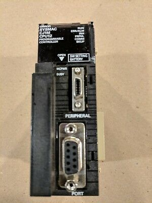 Omron Cj1m-cpu12 Cpu Unit - Plc Processor