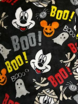 Womens Disney Mickey Mouse Fuzzy Pajama Sleep Lounge Pants Vampire - Halloween Pajamas Womens